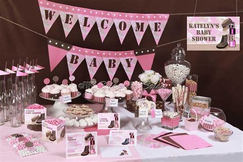 Pink Camo Baby Shower Decorations by Baby Shower Pink Camo Naptime Productions