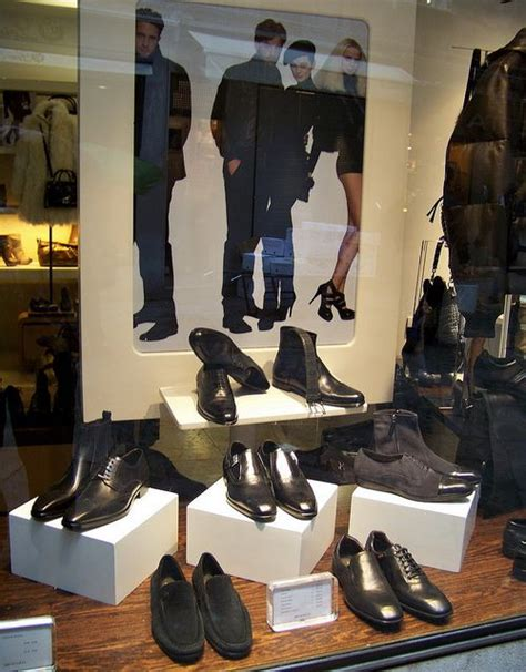 shoe display s leather and leather on