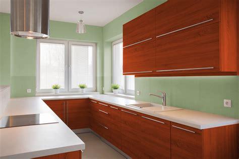 colore verde per pareti interne i migliori colori delle pareti per una cucina ciliegio