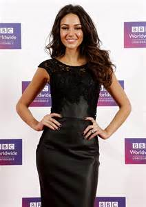 Taylor Swift Red Carpet Dress by Michelle Keegan Looks Slim And Chic In Black Leather Mini