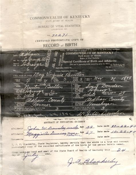 Virginia Birth Records Birth Records