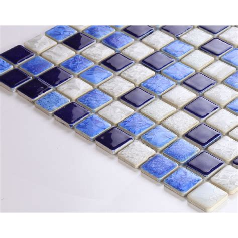 1 inch tile tile design ideas - 1 Inch Mosaic Ceramic Tiles