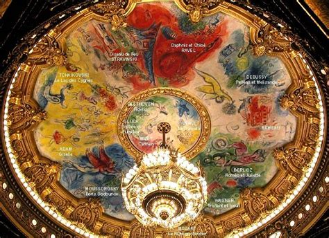 Chagall Ceiling by Marc Chagall And The Opera A Love That Never Died A Look