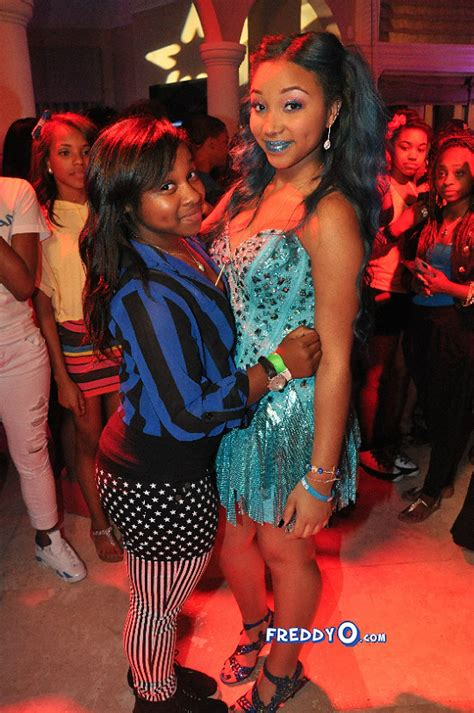 Zonnique Pullins Bedroom photos celeb kids attend zonnique s sweet 16 party