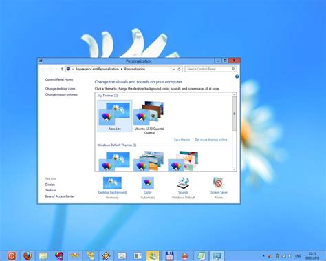 theme windows 8 1 hp how to disable transparency for the taskbar in windows 8