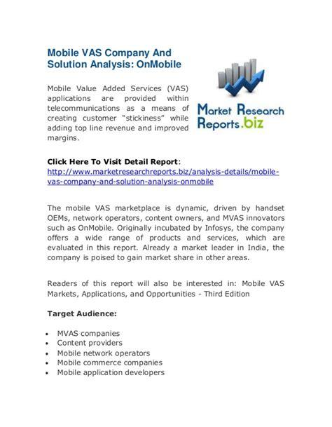 mobile vas companies mobile vas company and solution analysis onmobile top