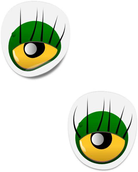 dogface jim monster eye sticker clip art  clkercom
