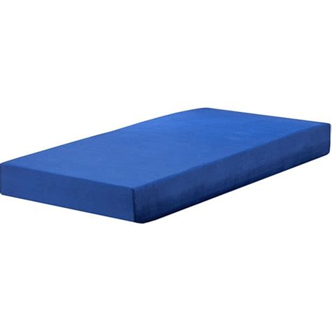 Foam Size Mattress by Sleep Sync Blueberry 7 Inch Size Memory Foam Mattress