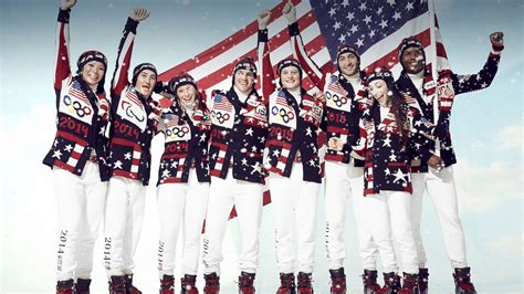 Team Fashion by Sochi Olympics Ralph Reveals Team Usa Uniforms