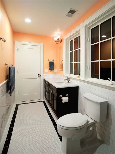 houzz matching floor and wall tile design ideas subway tile border home design ideas pictures remodel