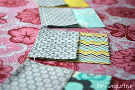 Putting A Quilt Sandwich Together by Economy Block Pillow Free Pattern