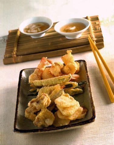 cucina giapponese tempura tempura fritto misto della cucina giapponese cibo