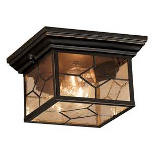Porch Ceiling Lights Portfolio Rubbed Bronze Outdoor Ceiling Light Lowe S Canada