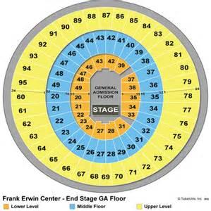 Frank Erwin Center Tickets Tx Frank Erwin Center Seating Chart Cheap Frank Erwin