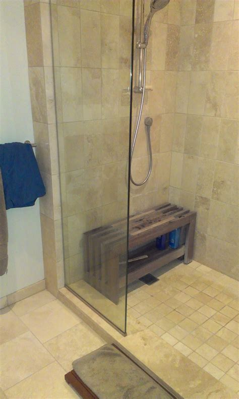 walk in shower designs with bench wooden bench in shower brilliant office spaces