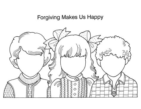 nice parable of the unforgiving servant coloring page