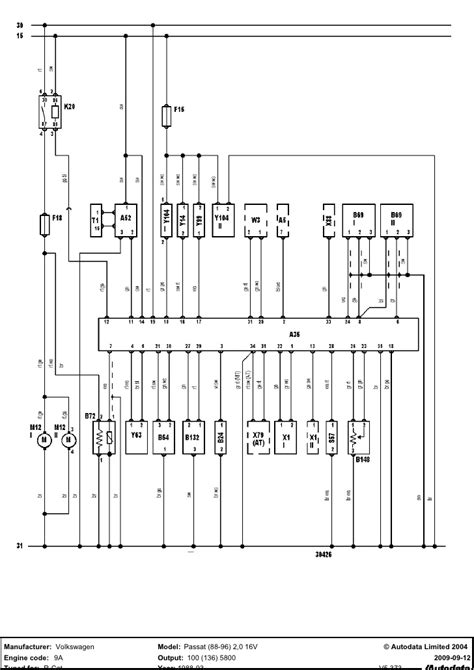 vw 9a engine wiring diagram