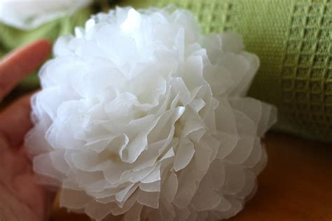 How To Make Wax Paper Flowers - a clever way to wrap a wine bottle weddingbee