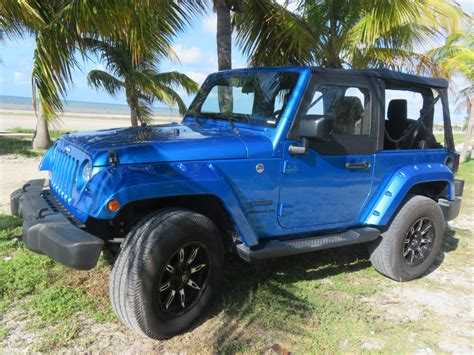 blue jeep 2 door our jeeps
