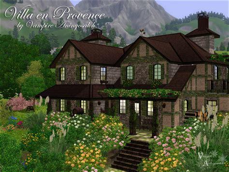 Old World Bedroom mod the sims villa en provence no cc