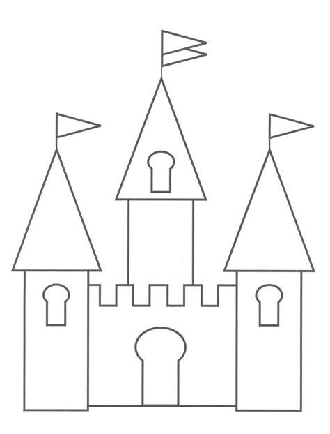 castle drawing template castle drawing template basic castle cinderellas castle