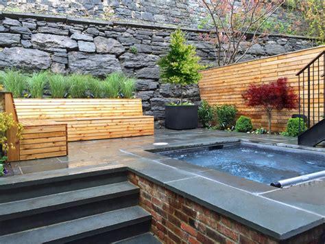 Patio Fence Designs Heights Bluestone Patio Garden Design Spa Fencing Bluestone Bench Contemporary