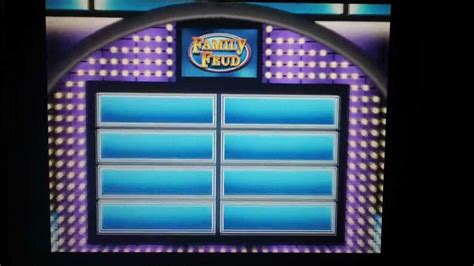 Iphone App Review Quot Family Feud Friends Quot Free Youtube Family Feud Template