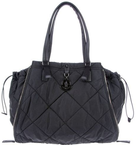 Moncler Oversized Coussin Lacquered Handbag by Moncler Zoe Bag In Black Lyst