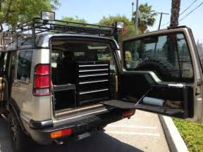 2001 land rover se7 discovery ii rear organization