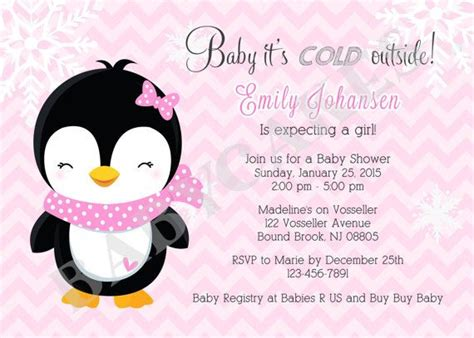 penguin baby shower theme baby showers de invierno ping 252 inos and baby showers on