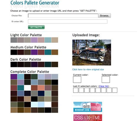 home color palette generator 28 decorating color palette generator css