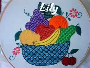 bordados de frutas en servilletas pin girasoles bordado cinta grupos emagister graffiti