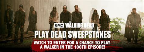 Walking Dead Secret Word Sweepstakes - amc the walking dead play dead sweepstakes code words winzily