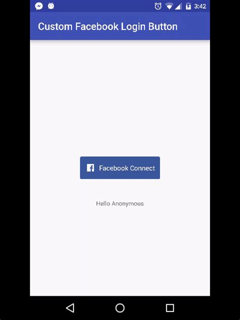 facebook login layout android customize facebook login button on android mehdi sakout