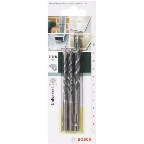 Matabor Set Bosch Multi Purpose bosch 2609256918 multi purpose drill set sds 5 to 8mm 3 pcs rapid