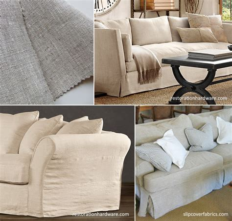 Linen Sofa Slipcover Linen Sofa Single Seat Cushion Thesofa Linen Slipcovers For Sofas