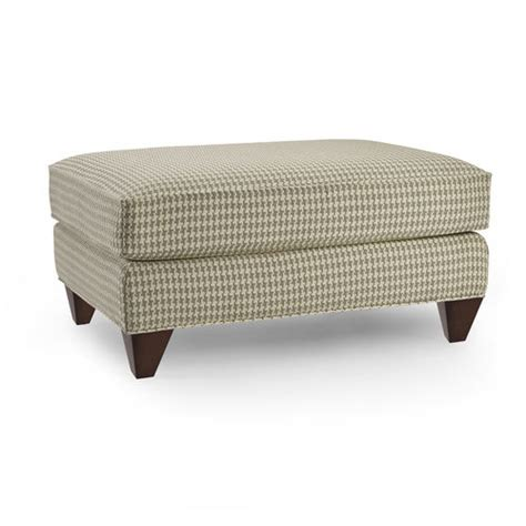 Houndstooth Ottoman Millie Houndstooth Rectangular Fabric Ottoman At Brookstone Buy Now