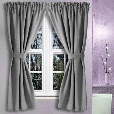 45 length window curtains buy 45 inch curtains from bed bath beyond