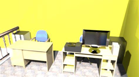 Desain Meja Pendaftaran | desaingodho desain toko kantor simple dan mewah dealer