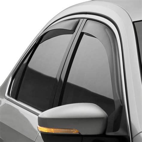 volkswagen side window deflectors vw service  parts