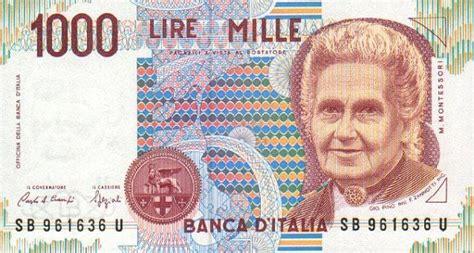 cambio lire d italia lira italiana