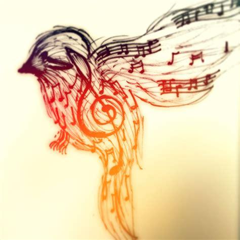 songbird tattoo note finch