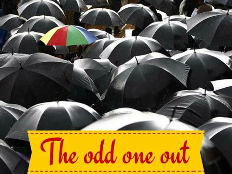 the odd one out ppt the odd one out powerpoint presentation id 7190769