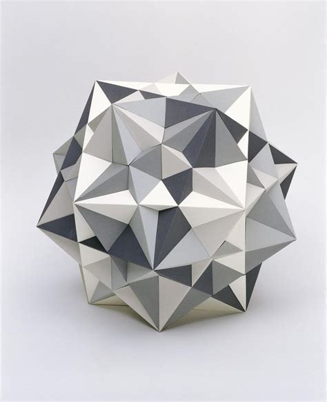 Geometry In Origami - 3 d fivefold symmetry artwork studio olafur eliasson