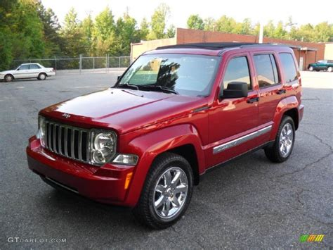 red jeep liberty 2012 2011 deep cherry red crystal pearl jeep liberty limited