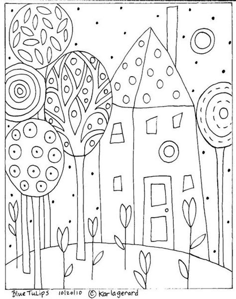 coloring pages folk art 81 best images about oodles of doodles on pinterest