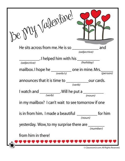 mad libs valentines mad lib mad libs valentines mad lib be mine