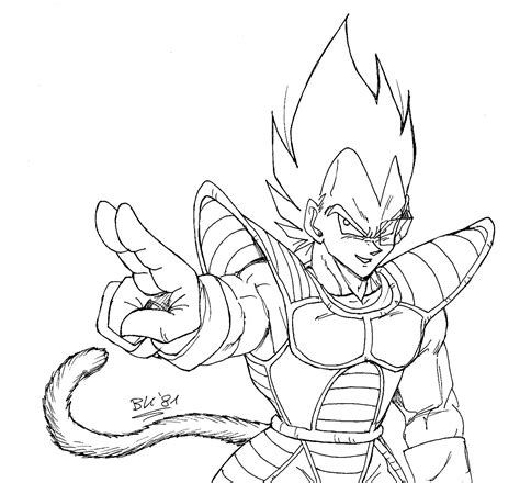 dragon ball z vegeta coloring pages free coloring pages of ssj5 trunks
