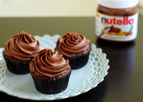 cupcake recipe chocolate nutella cupcakes recipe