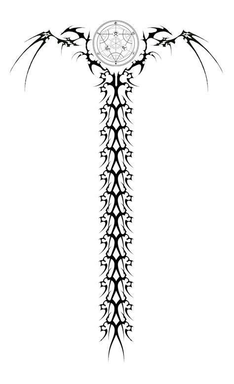 spine tattoo design spine images designs